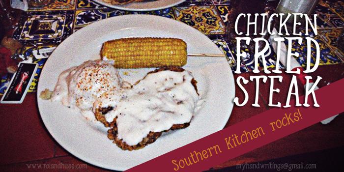 Chicken Fried Steak Font poster