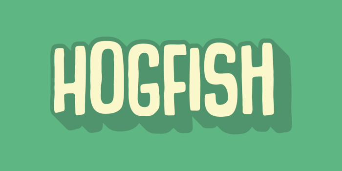 Hogfish DEMO Font poster