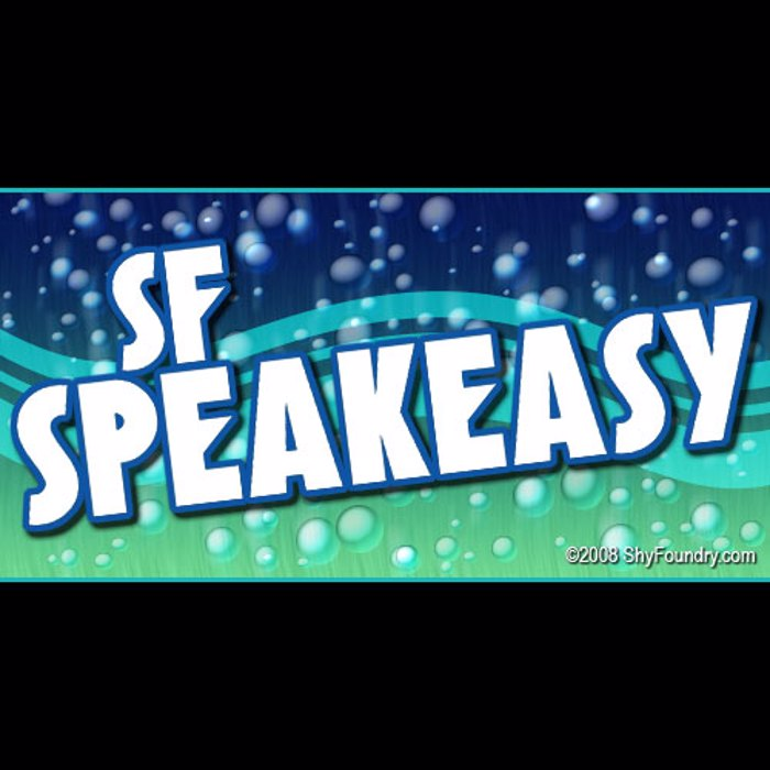 SF Speakeasy Font poster