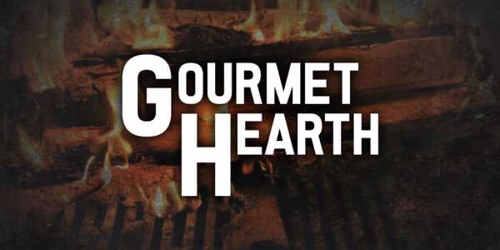 Gourmet Hearth Font poster