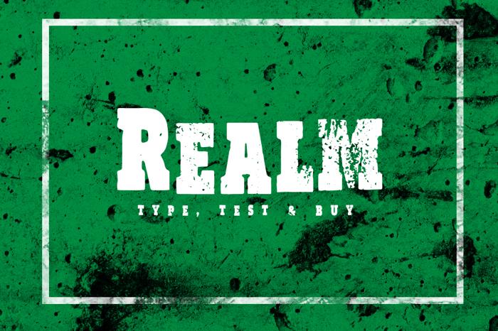 Vtks Realm Font poster