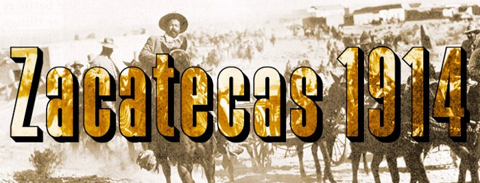 Zacatecas 1914 Font poster