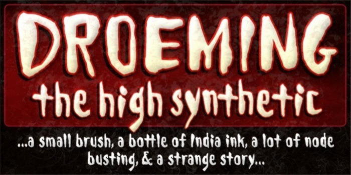 Droeming Font poster