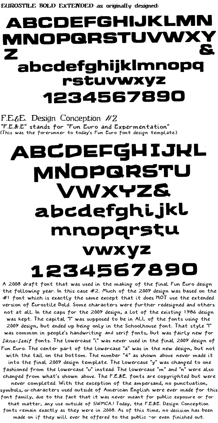 Russelfeiring Blast Psyched Out Font poster
