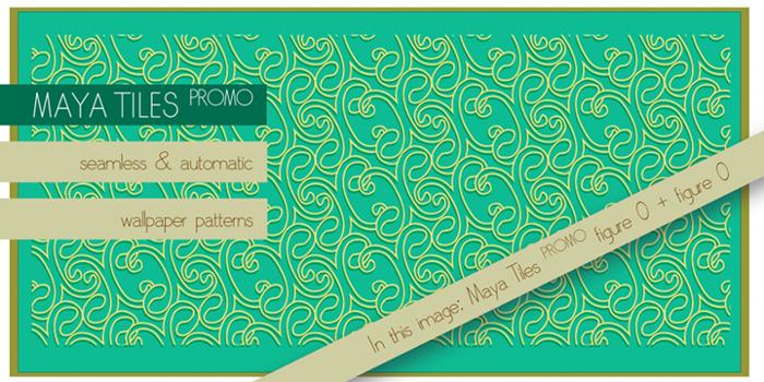 Maya Tiles Font