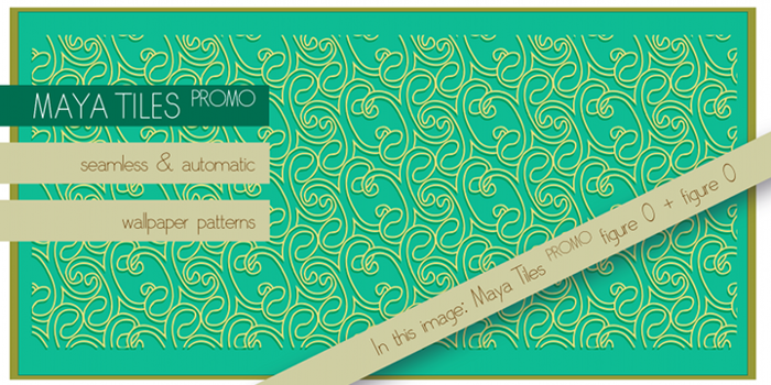 Maya Tiles Font poster