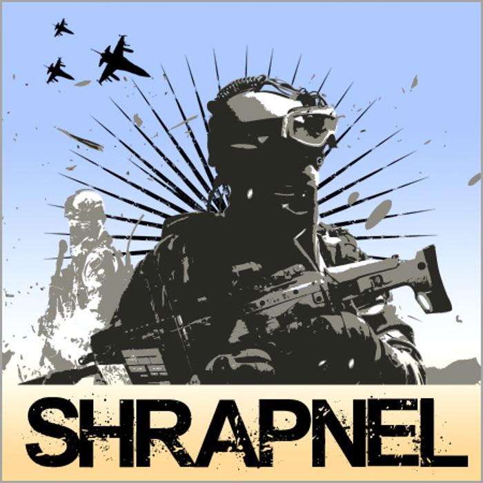 Shrapnel Font poster