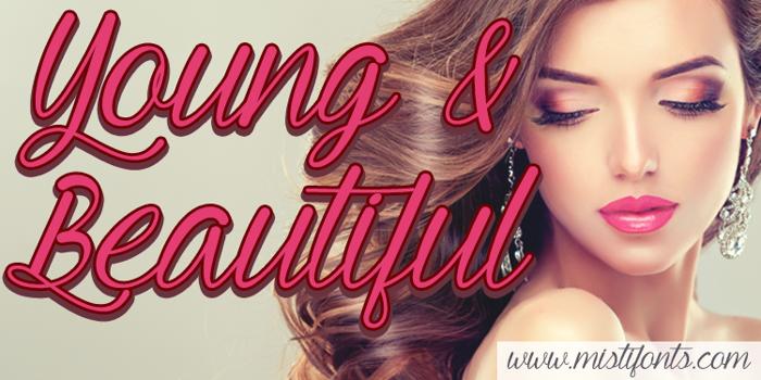 Young & Beautiful Font