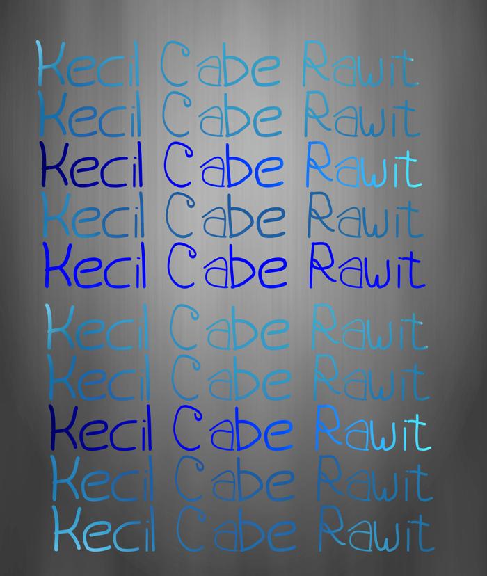 Kecil Cabe Rawit Font