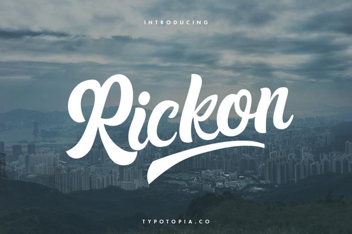 Rickon Font