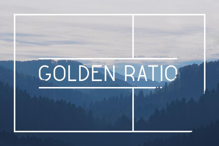 Golden Ratio Demo Font poster