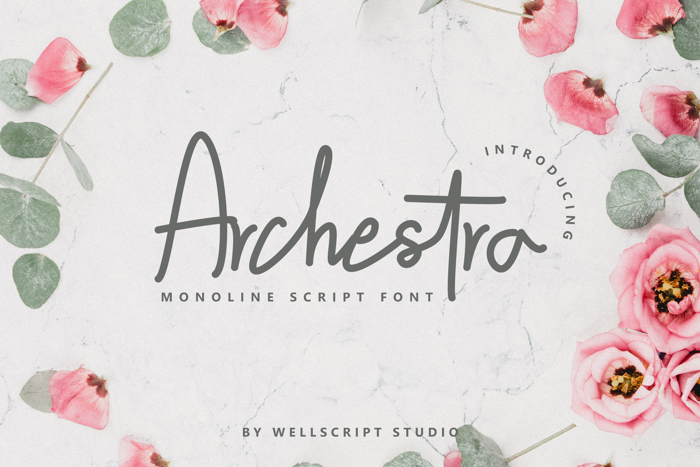 Archestra Font poster