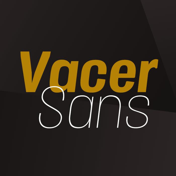Vacer Sans Font poster
