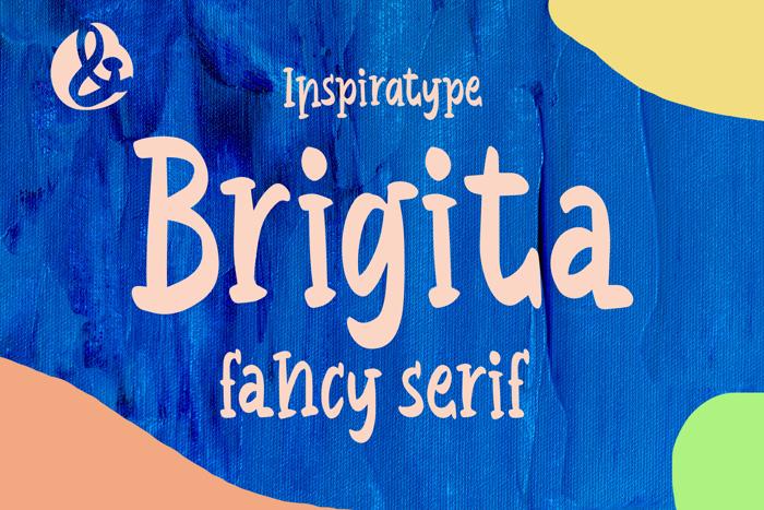 Brigita Font poster