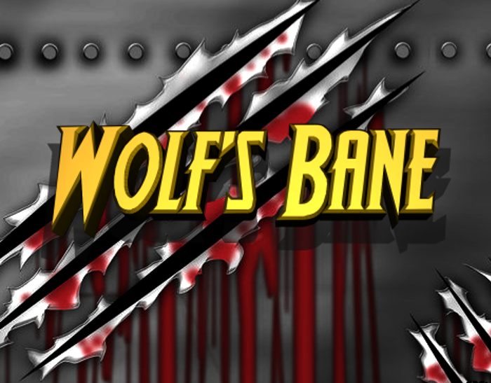 Wolf's Bane Font poster