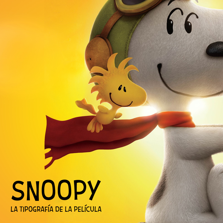 Snoopy Font cartoon toy