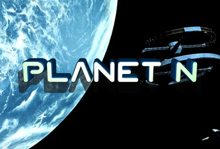Planet N Font screenshot graphic