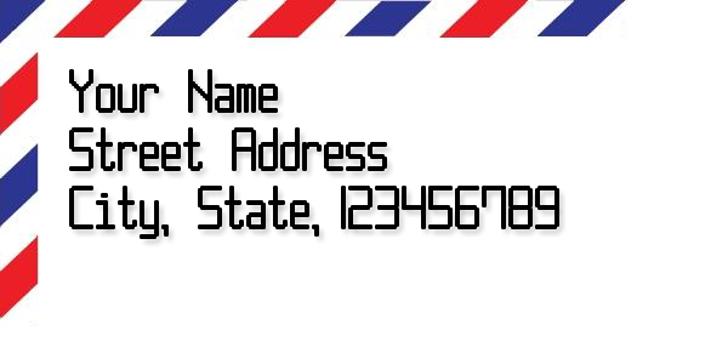 Post Pixel-7 Font design screenshot
