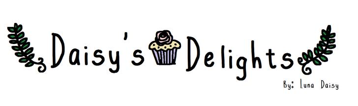 <Daisy's-Delights>  Font design cartoon