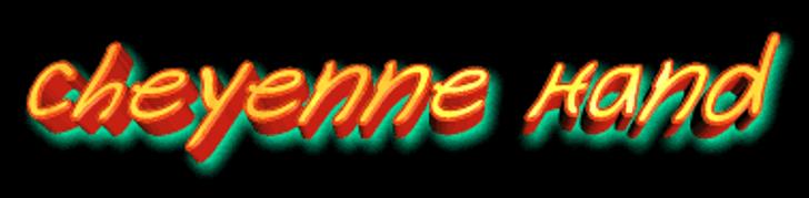 Cheyenne Hand Font light
