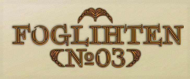 FoglihtenNo03 Font design yellow