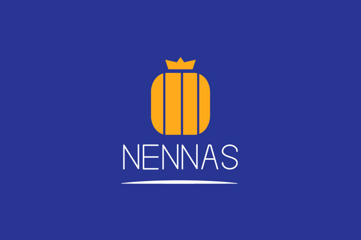 NENNAS Font poster