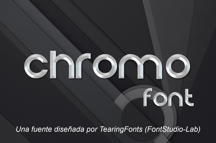 Chromo Font screenshot
