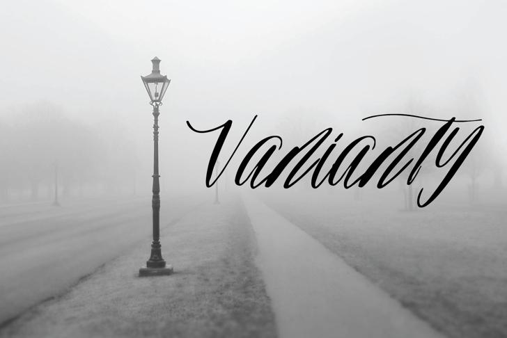 Bellorina Font poster