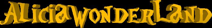 AliciaWonderland Font sign
