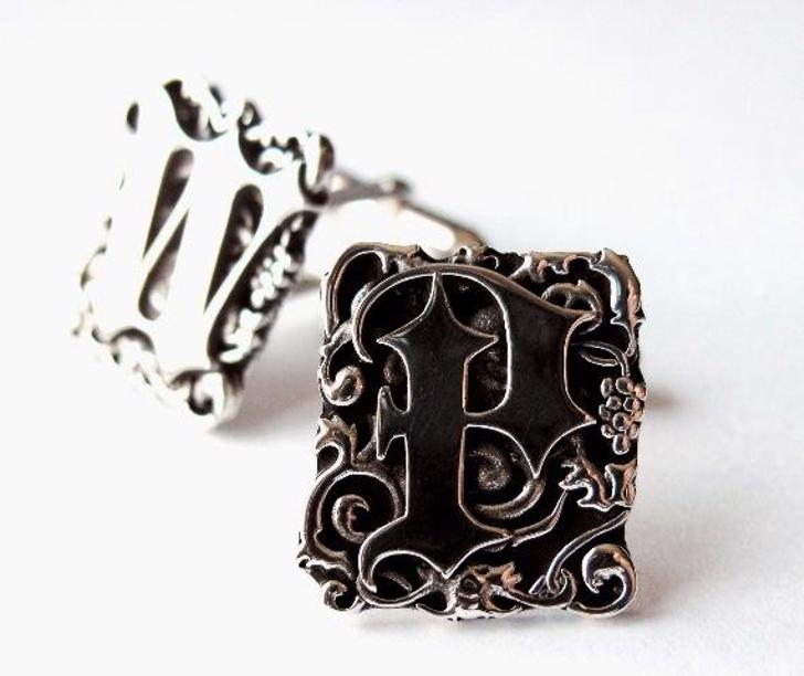 Blackletter Font fashion accessory jewelry