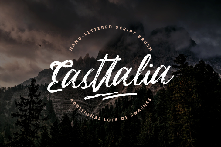 Easttalia Font typography text