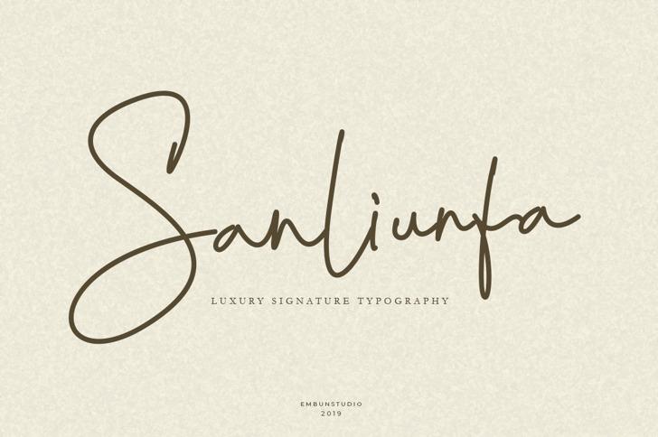 SanliurfaRegular Font poster