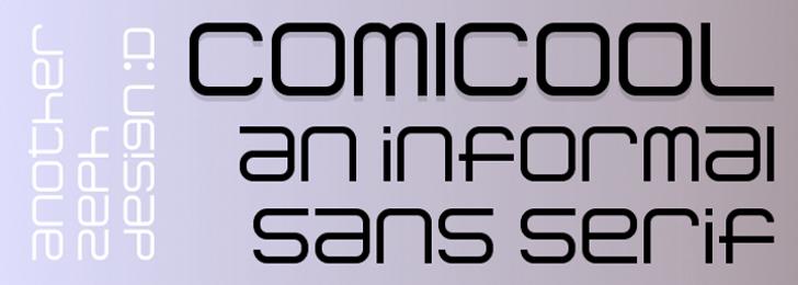 Comicool Font screenshot font