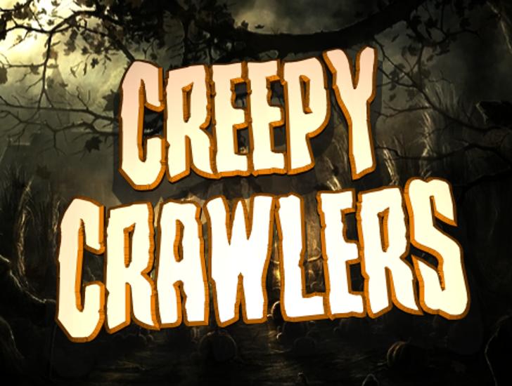 Creepy Crawlers Font sign tableware
