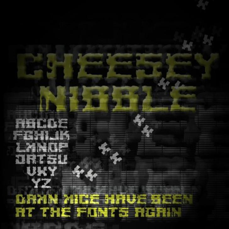 Cheesey Font screenshot electronics