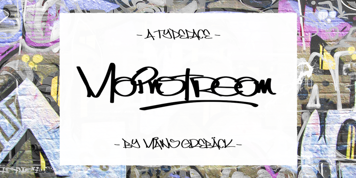 Mainstream PERSONAL USE ONLY Font handwriting design