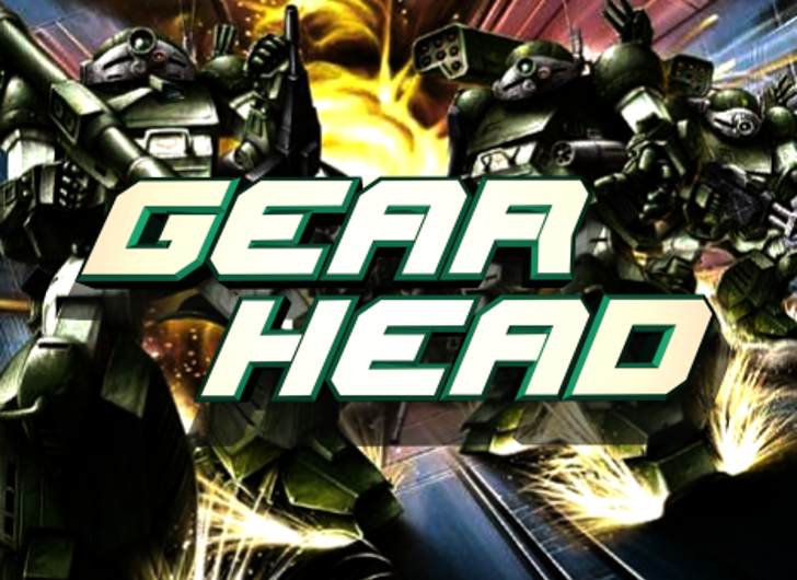 Gearhead Font screenshot