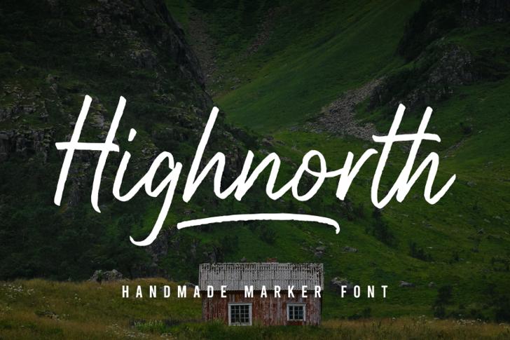 Highnorth Font poster