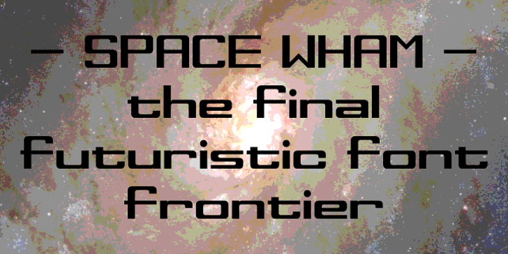 Space Wham Font wall indoor