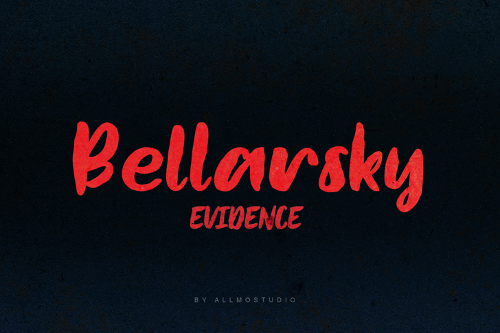 Bellarsky Demo Font poster