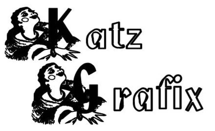KG HIGH SOCIETY Font cartoon design