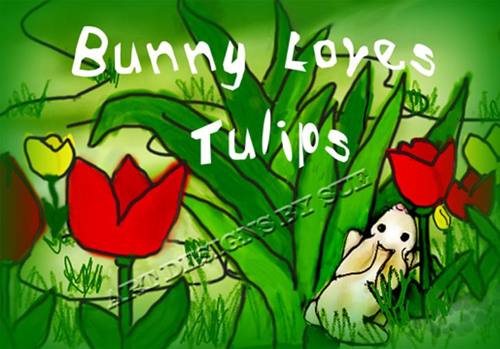 FunnyFigs Font cartoon illustration