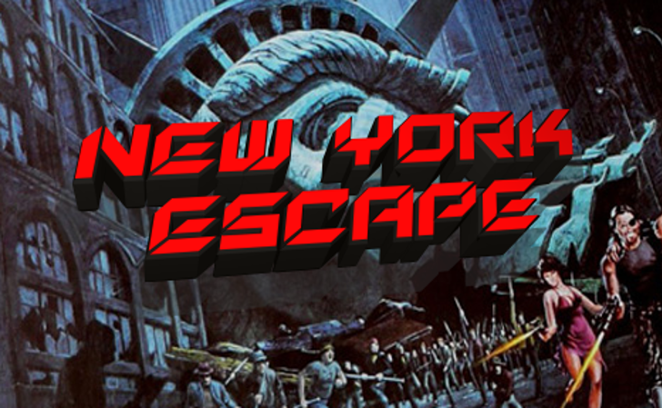 New York Escape Font screenshot poster