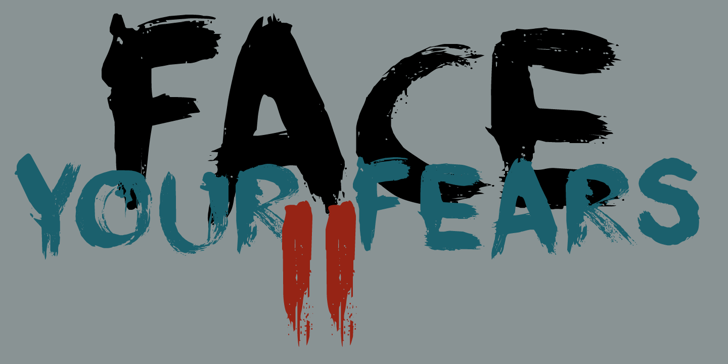 DK Face Your Fears II Font drawing cartoon