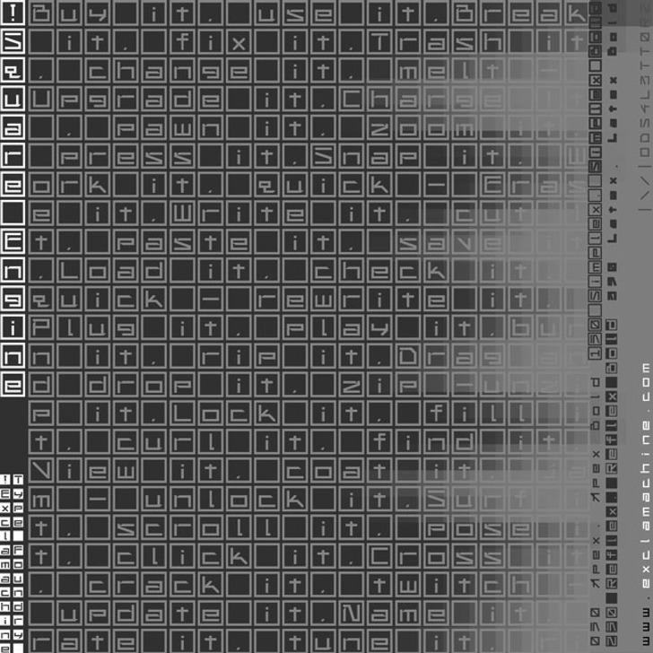 !Square Engine 050 Apex Font text