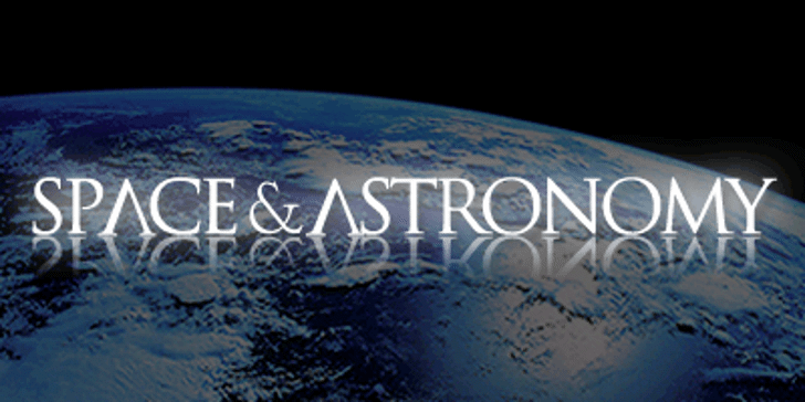 Space and Astronomy Font screenshot book