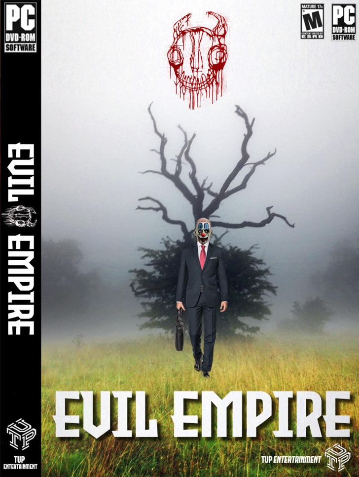 Evil Empire Font poster