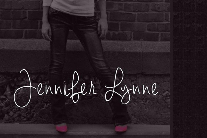 Jennifer Lynne Font building footwear