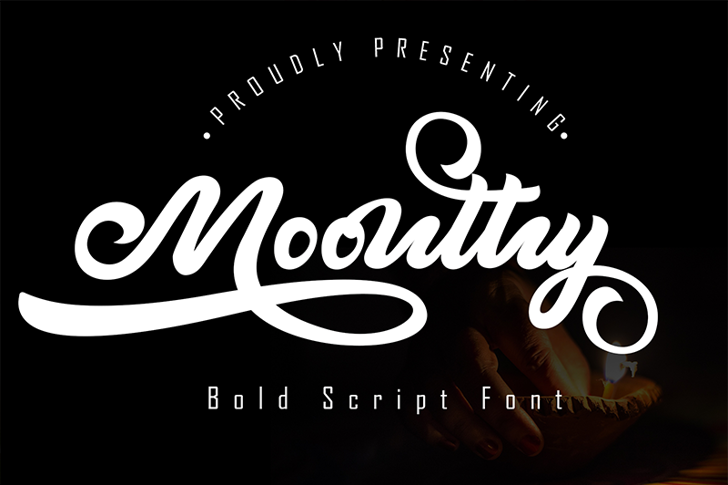 Moonthy Font poster