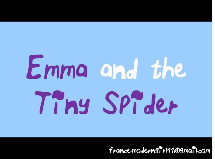 ELF_Emma_and_the_Tiny_Spider Font handwriting screenshot